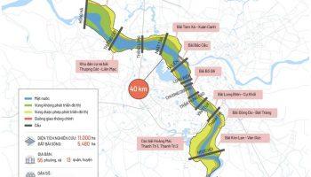 Quy hoạch phân khu đô thị sông Hồng phê duyệt, dự án nào hưởng lợi?